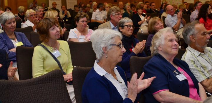 Faith in Older People conference attendees