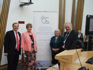 FIOP Reception in the Scottish Parliament 9th June 2015